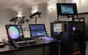 Звуковое и световое оборудование бального зала